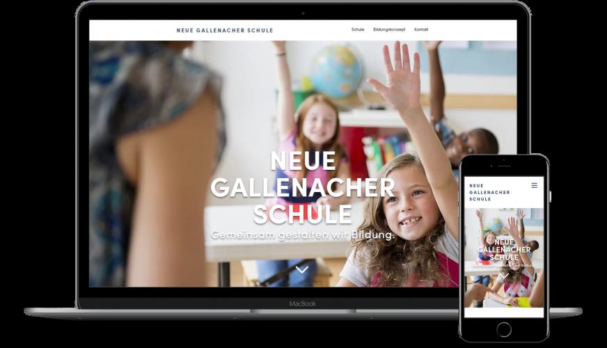 NeueGallenacherSchule_Website