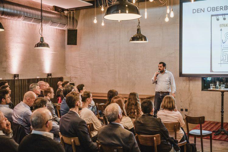 Markus Fischer, Geschäftsführer Startup Academy Basel