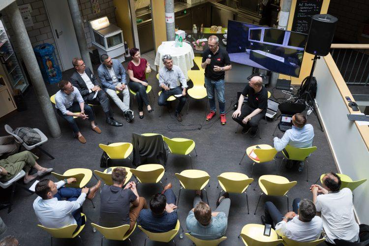 Startup Pitch von Inside Reality